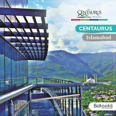 On your trip to Islamabad, don't miss out a great view from Centaurus Hotel Apartments, now available for booking through Batoota. Starting from only PKR Pakistan Hotels, Hotel Apartment, Apartments, Capital City, Great View, Traveling By Yourself, London, World, Beautiful