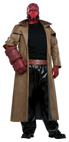halloween costumes for guys | Hellboy Men Plus 2013 Halloween Costume Online | The Costume Land