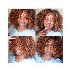 Loving the curls! @boniica  (at www.kurleebelle.com)