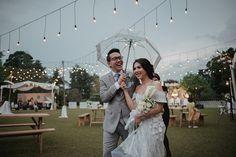 Pernikahan outdoor rustic yang sangat cantik dan menginspirasi!
