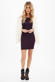 Scoop Neck Bodycon Dress - OCCASION DRESS - 2000119080 - Forever 21 UK