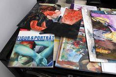 Portraitmalerei in Aquarell   Abschauungsmaterial im Kurs Grundlagen Portrait (c) Frank Koebsch #Schwerin #Schloß #Museum #Kreativwerkstatt #Aquarellkurs #Portrait