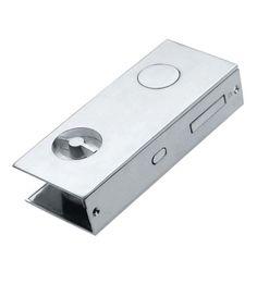 Manital FLAT Designer Sliding Pocket Door Bathroom Lock Set