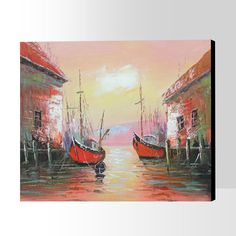 Oil Painting Oil Painting On Canvas, Hand Painted, Landscape, Abstract, Decor, Art, Decoration, Scenery, Decorating