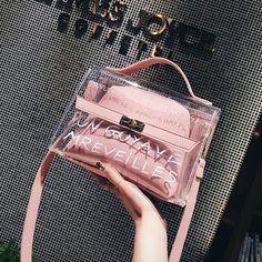 2762069799d YBYT merk 2018 nieuwe casual zomer transparant strand dames handtassen mode  dames boodschappentas schouder messenger crossbody