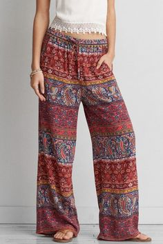 American Eagle Outfitters AEO Wide Leg Soft Pants