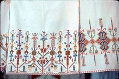 Cretan embroidery by jmlwinder, via Flickr