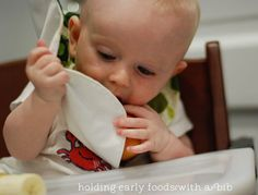 how to prepare food for babies starting baby led weaning