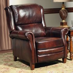 Have to have it. Parker House Camelot Leather Push Back Recliner - $834.1 @hayneedle