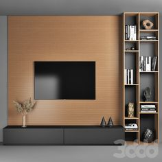 models: Other - TV Wall tv cabinet design,