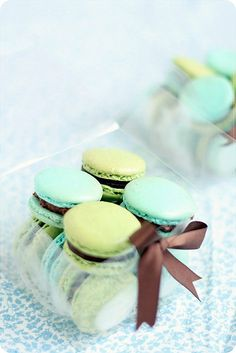Christmas Macarons by bossacafez, via Flickr