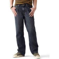 Signature by Levi Strauss ; Co.; Boys' Relaxed Fit Jeans, Size: 12