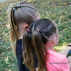 Little Girl Hairstyles Childrens Hairstyles, Lil Girl Hairstyles, Braided Hairstyles, Cute Hairstyles For Kids, Toddler Hairstyles, Unique Hairstyles, Teenage Hairstyles, Hairstyles Men, Quick Hairstyles