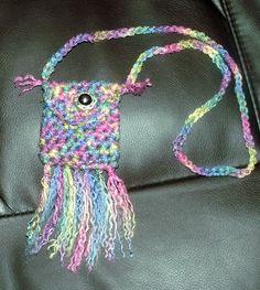 Crochet Medicine Bag Pattern : Cool Crochet on Pinterest