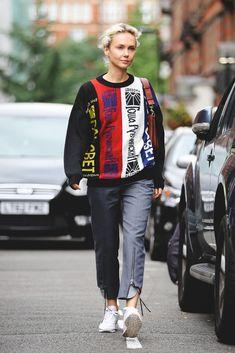 9c21dd5994a0b9 Street Style Photos - London Fashion Week SS17