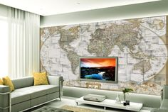 3d Wall Murals World Map Tv Background Wall Mural 3d Wallpaper 3d Wall Papers For Tv Backdrop Hd Pictures For Wallpaper Hd Resolution Desktop Wallpapers From Chinahomegarden, $34.18| Dhgate.Com