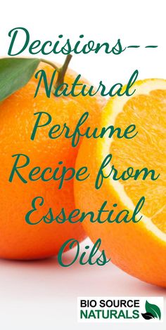 Natural Perfume Recipe--Decisions DIY from essential oils. #DIY #naturalperfume #essentialoils Essential Oil Perfume, Essential Oil Uses, Natural Essential Oils, How To Make Homemade Perfume, Perfume Recipes, Perfume Making, Young Living Oils, Beauty Recipe, Organic Oil