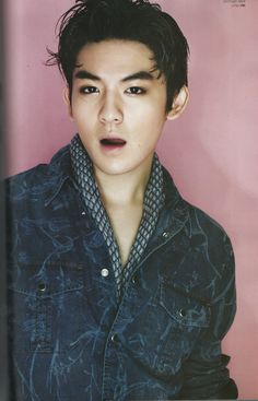 Teen Top's Ricky // L'Officiel Hommes Korea
