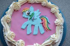 Kirsin keittiössä: Rainbow dash - kakku