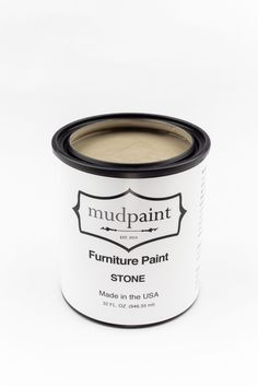 Gray Painted Furniture, Green Furniture, Vintage Furniture, Cool Furniture, White Paint Colors, Gray Color, Clay Paint, Paint Line, It Goes On