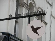 The Hummingbird bakery London Bakery London, Notting Hill London, Hummingbird Bakery, Cute Store, Store Signs, London Calling, Bakeries, Restaurant Bar, Holiday Fun