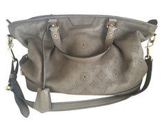 9e76fdbef04 Mahina Stellar Powder Pm Handbag Gray  Taupe Leather Shoulder Bag. Tradesy