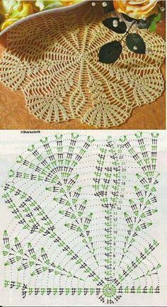 Crochet Placemat Patterns, Crochet Table Runner Pattern, Irish Crochet Patterns, Crochet Doily Diagram, Crochet Tablecloth, Crochet Motif, Crochet Designs, Crochet Doilies, Knit Crochet