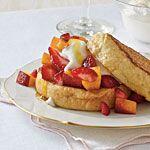 English Muffin French Toast Recipe | MyRecipes.com