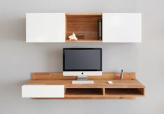 MASH Studios LAX Series Wall Mounted Desk | 2Modern Furniture & Lighting