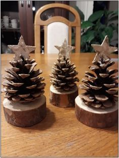 15 Easy DIY Christmas Decorations for Kids to Make for the Home that're beautiful #Rustic