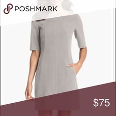 Selling this ♦️New Tahari gorgeous dove gray dress on Poshmark! My username is: lallylewis. #shopmycloset #poshmark #fashion #shopping #style #forsale #Tahari #Dresses & Skirts