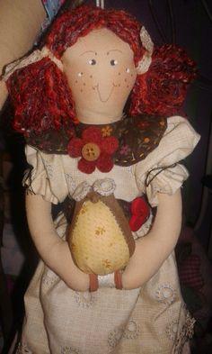 Boneca Antonella e sua corujinha- Com sua beleza e charme, e aroma inconfundível da um toque  refinado ao seu ambiente.