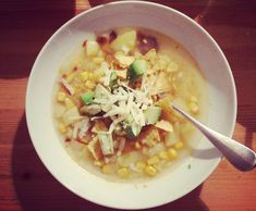 Without further ado, my favorite soup discovery of 2014! Potato soup spiked with chipotle chiles,...