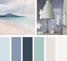 paleta de cores azul turquesa: habitacion clara