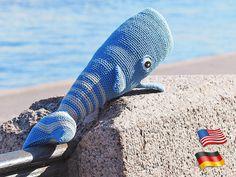 crochet pattern Small Whale crochet toys pattern Includes