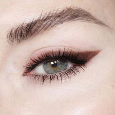 /// brown winged liner