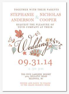 microsoft office wedding invitation templates