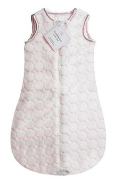 Amazon.com: SwaddleDesigns Microplush Sleeping Sack, 2-Way Zipper, Turquoise Puff Circle, 6-12MO: Baby