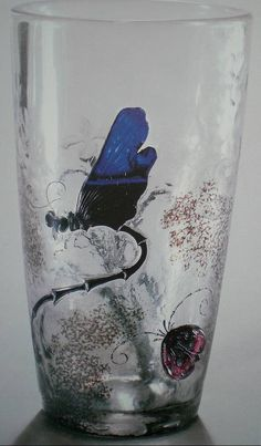 Emile Gallé, Nancy, (1846-1904), Blown, Internal Inclusions, Cased, Applied and Engraved Glass Vase.