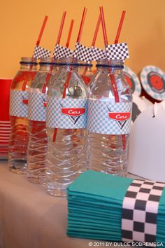 Disney Pixar's Cars 3rd Birthday Party- Lightning Mcqueen Party
