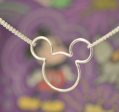 Mickey Mouse Pendant Disney Jewelry by TheJewelryGirlsPlace
