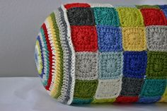 Felted Button - Colorful Crochet Patterns: ::Geronimo::