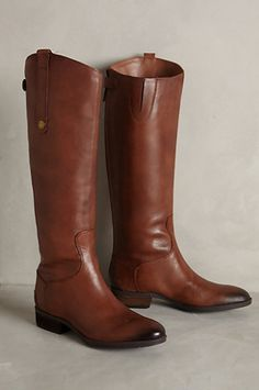 Classic riding boots #AnthroFave