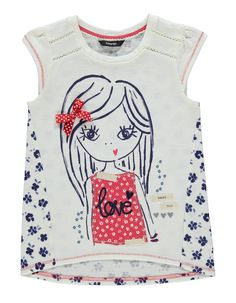 Maritime Girl T-shirt   Kids   George at ASDA