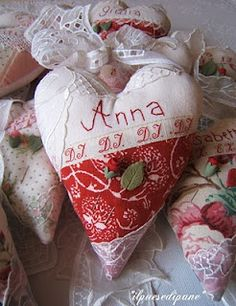 Old heart with name - Antico cuore con nome