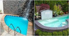 Ventajas de las piscinas de obra para patios pequeños. Piscinas pequeñas para patios pequeños. Imágenes de piscinas de obra pequeñas.