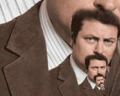 The Ultimate Ron Swanson Mustache.