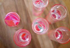 Gläser marmorieren