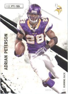 2010 Panini Rookies and Stars Football Cards #81 Adrian Peterson - Minnesota Vikings - NFL Trading Card by Panini. $2.52. 2010 Panini Rookies and Stars Football Cards #81 Adrian Peterson - Minnesota Vikings - NFL Trading Card