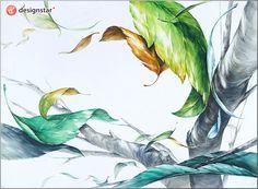 blog.naver.com/... #디자인스타, #미술학원, #기초디자인, #입시미술, #입시디자인, #미대입시, #나뭇잎, #나무
